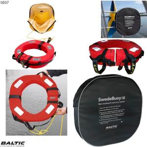Swedebuoy redningskrans Sort BALTIC 9597
