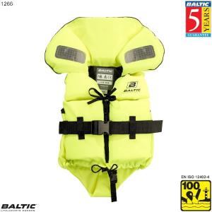 Split Front Børne rednings vest UV-Gul BALTIC 1266
