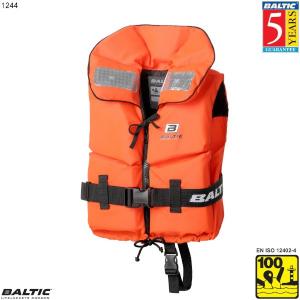 Split Front Børne rednings vest Orange BALTIC 1244